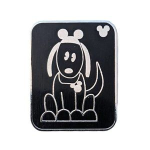 Disney Pets Lapel Pin: Dog with Mickey Mouse Ears